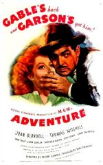 Adventure 1945 DVD - Clark Gable / Greer Garson